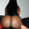 Big black booty on cam